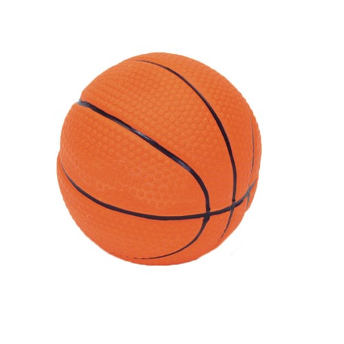 "Rascals® 2.5"" Latex Basketball Dog Toy Product image"