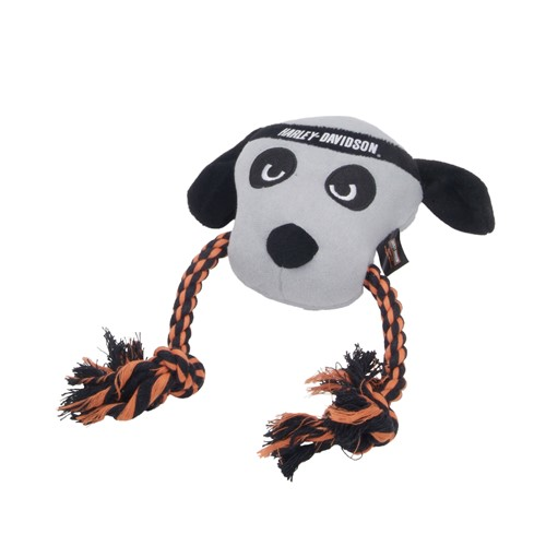 Harley-Davidson® Plush and Rope Tug Dog Toy Product image