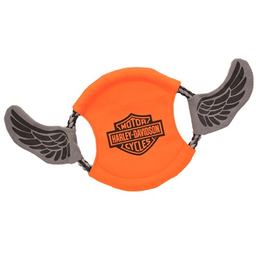 Harley-Davidson® Canvas Rope Flyer Dog Toy Product image