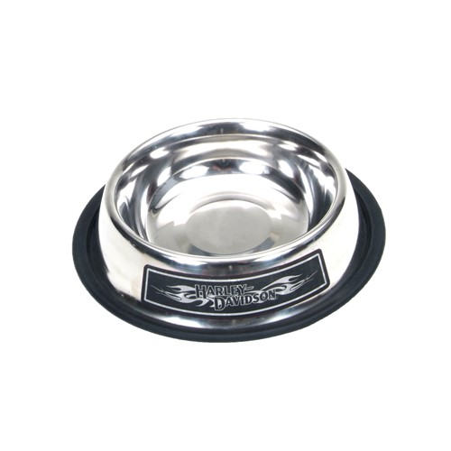 Harley-Davidson® Stainless Steel Dog Bowl Product image