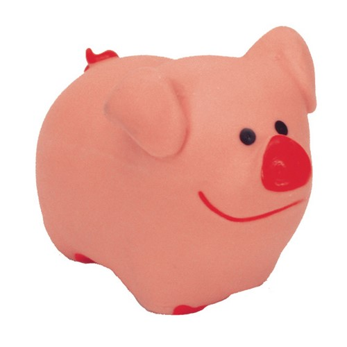 "Li'l Pals® 3"" Latex Pig Dog Toy Product image"
