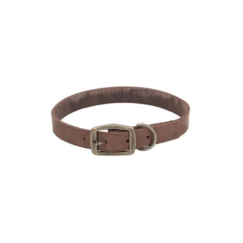 Circle T® Rustic Leather Town Dog Collar Product image