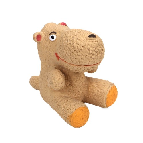 "Rascals® 3"" Latex Tan Dog Toy Product image"