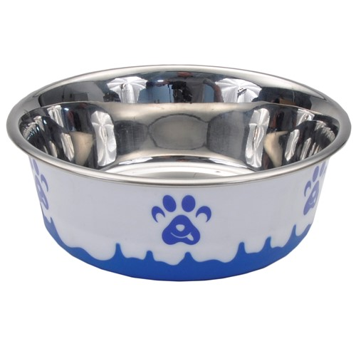 Maslow™ Design Series Non-Skid Paw Design Dog Bowls Product image