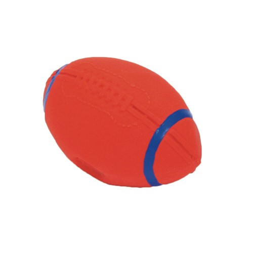 "Rascals® 4"" Latex Football Dog Toy Product image"