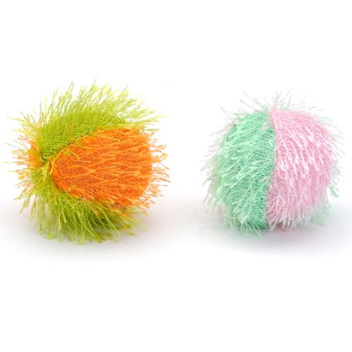 Turbo® Fuzzy Balls Bulk Cat Toy Bin Product image