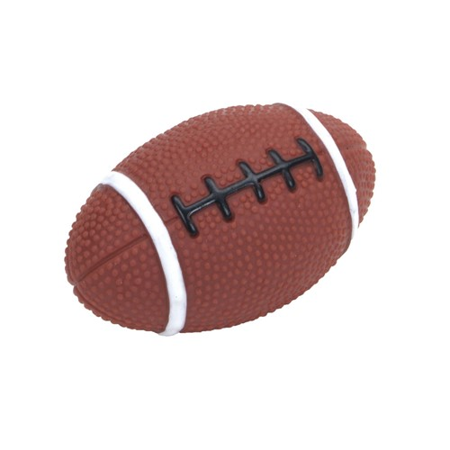 "Rascals® 4"" Vinyl Football Dog Toy Product image"