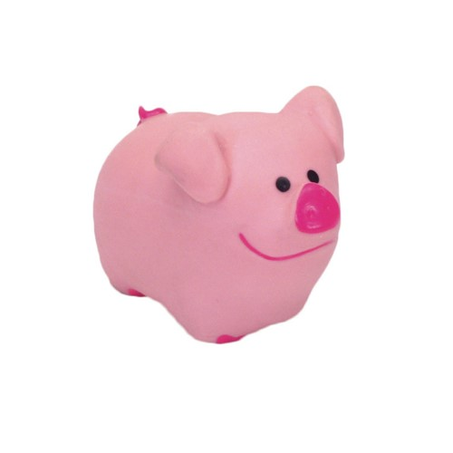 "Rascals® 2.75"" Latex Pig Dog Toy Product image"