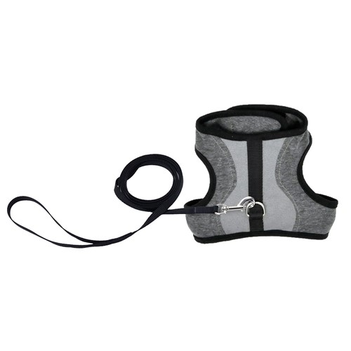 Adjustable Cat Wrap Harness with 6' Leash Product image