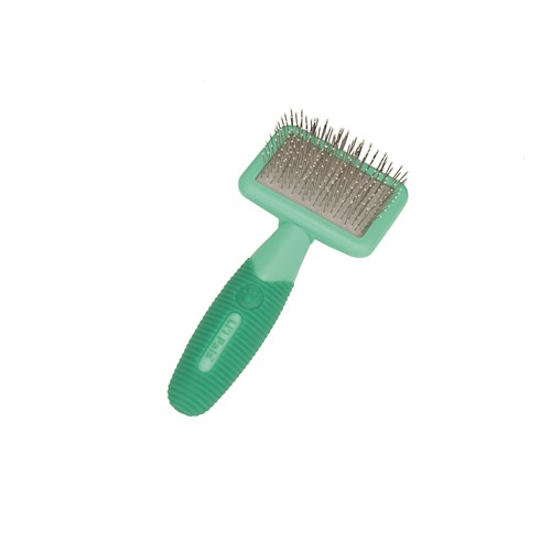 Li'l Pals® Kitten Slicker Brush with Coated Tips Product image