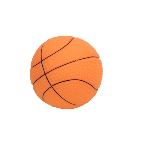 "Rascals® 2.5"" Vinyl Small Basketball Dog Toy Product image"