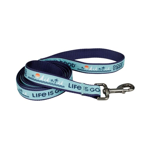 Life is Good® Canvas Overlay Dog Leash Product image
