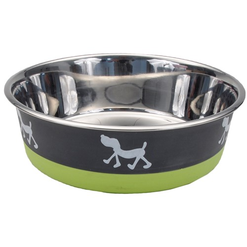 Maslow™ Design Series Non-Skid Pup Design Dog Bowls Product image