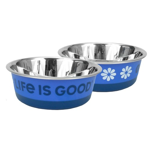 Life is Good® Stainless Pet Bowl Product image