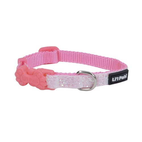 Li'l Pals® Adjustable Dog Collar with Glitter Overlay Product image