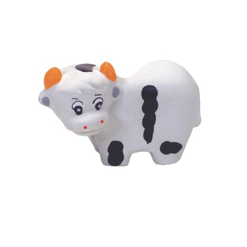 "Rascals® 3.25"" Latex Cow Dog Toy Product image"