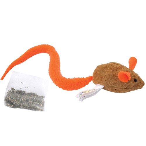 Turbo® Turbo Tail™ Crinkle Mouse with Catnip Pouch Cat Toy Product image