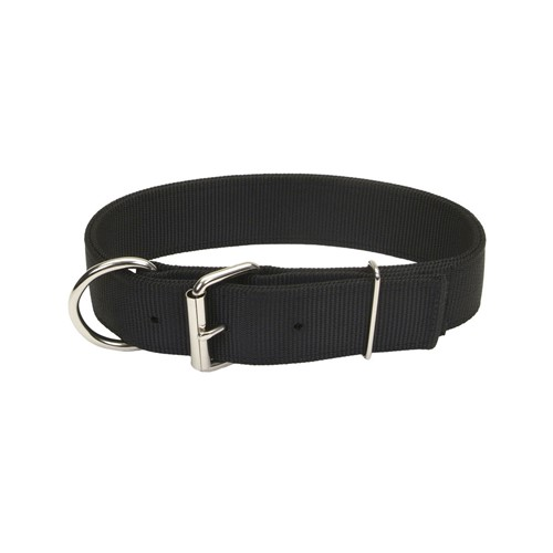 Macho Dog® Double-Ply Dog Collar with Roller Buckle Product image