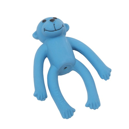 "Li'l Pals® 4"" Latex Monkey Dog Toy Product image"