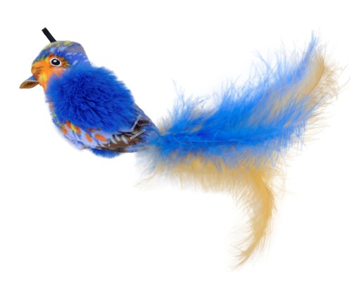 Turbo® Life-like Blue Bird Cat Toy Product image