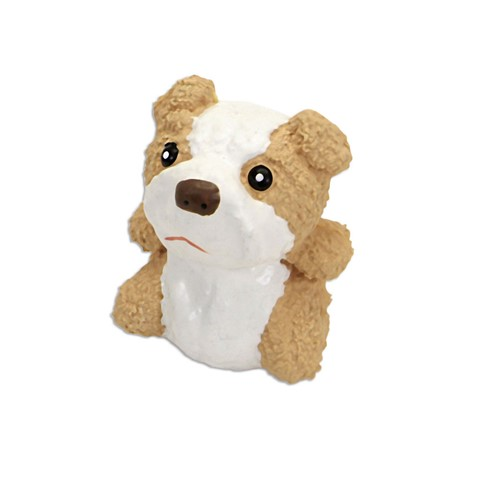 "Rascals® 3"" Latex Tan and White Bulldog Dog Toy Product image"