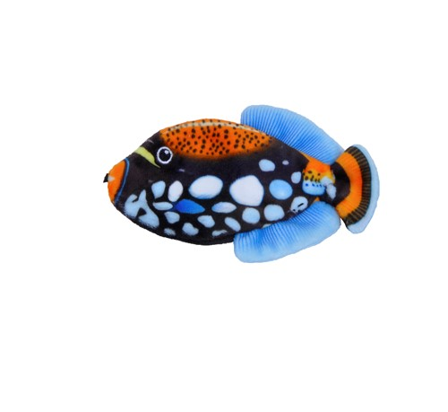 Turbo® Life-like Black Fish Cat Toy Product image