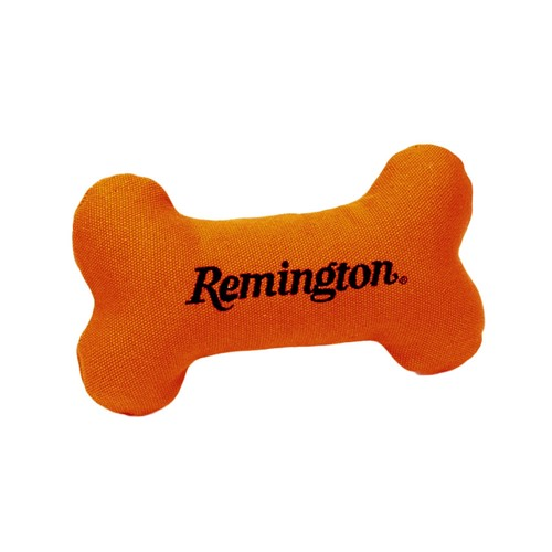 "Remington® 7"" Canvas Bone with Squeaker Dog Toy Product image"
