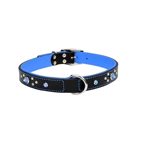 Circle T® Fashion Leather Dog Collar with Jewels Product image