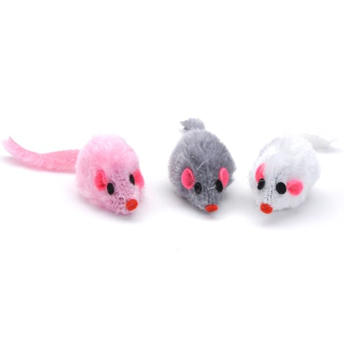 Turbo® Furry Mice Bulk Cat Toy Bin Product image
