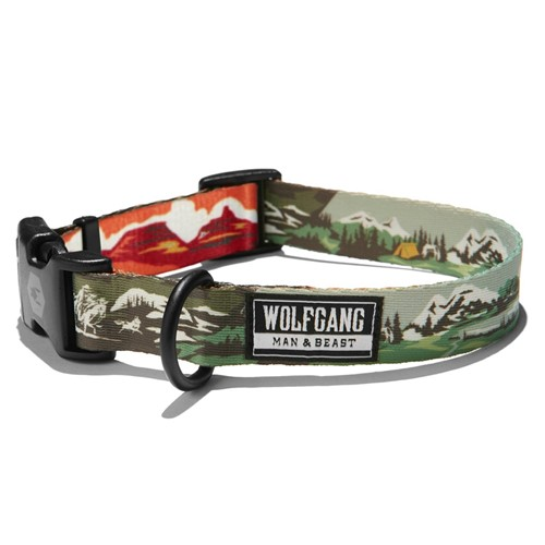 Wolfgang OldFrontier Adjustable Dog Collar Product image
