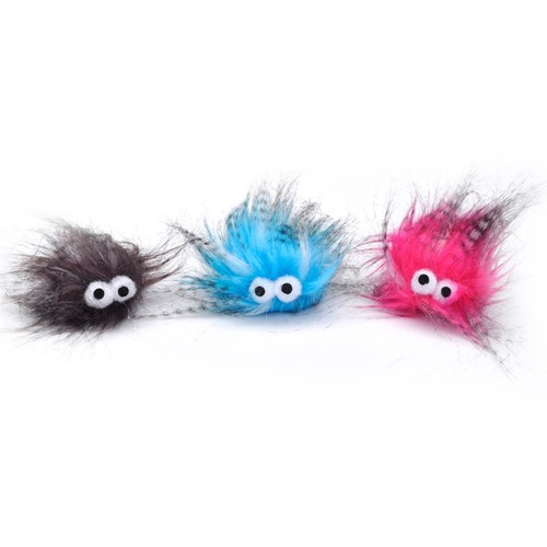 Turbo® Plush Monsters Bulk Cat Toy Bin Product image